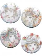Shintaro Kago Pin Badge Button set 2