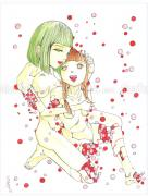 Shintaro Kago painting Polka Dot 2