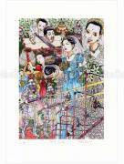 Shintaro Kago print Bride in Front of the Station