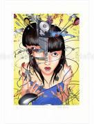 Shintaro Kago print Disk Crash