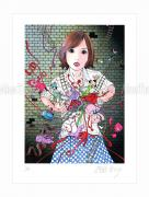 Shintaro Kago print Murder Art Through the Ages small
