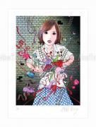 Shintaro Kago print Murder Art Through the Ages small