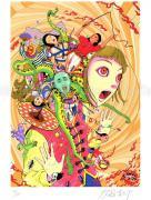 Shintaro Kago print Sadistic Circus 1 small SIGNED