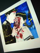 Suehiro Maruo Print 13 Torture Garden - fresh from the printer