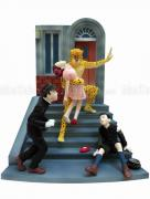Suehiro Maruo Leopard Man and Young Detectives figure - front