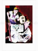 Suehiro Maruo Print 11 Yume no Q-Saku SIGNED