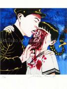 Suehiro Maruo Print 13 Torture Garden - detail