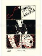 Suehiro Maruo Denkiari color manga print