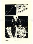 Suehiro Maruo Denkiari monochrome manga print
