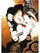 Suehiro Maruo Strange Vampire painting