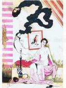 Suehiro Maruo Vampire II original painting - detail
