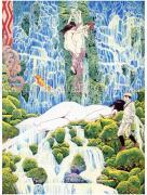 Suehiro Maruo Yasha Ga Ike painting