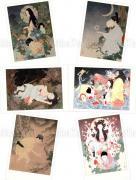 Takato Yamamoto Postcard Set 4 Grass Labyrinth