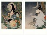 Takato Yamamoto postcards - Grass Labyrinth & A Lady's Maid of Myoujinsama