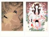 Takato Yamamoto postcards - Akira Hagoshi & Grass Labyrinth II