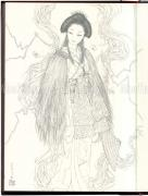 Tale of a Castle Keep Takato Yamamoto underdrawing - inside page