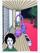 Toshio Saeki Giclee Print 1 - detail