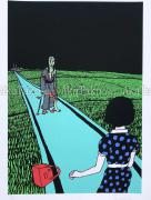 Toshio Saeki Giclee Print 2 - detail