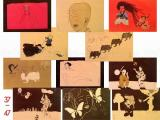 Toshio Saeki Akai Hako prints #37-47