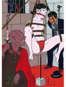 Toshio Saeki Print 10 Chimushi