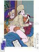 Toshio Saeki Print 7 虐戯 天使