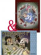 Trevor Brown Alice Poster Pair 2