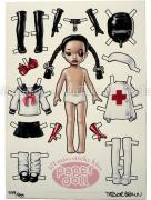 Trevor Brown Lil&#039; Miss Sticky Kiss Paper Doll