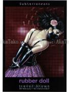Trevor Brown Rubber Doll Flyer Pink Rose