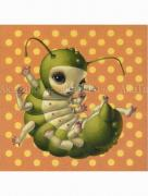 "Trevor Brown ""Lora Larva"" original painting"