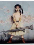 Trevor Brown Machine Gun Girl Print