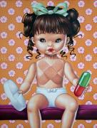Trevor Brown Pill Baby painting