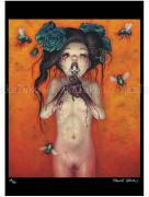 Trevor Brown Pandora poster Child of Satan, Child of God - SIGNED