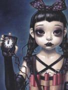 Trevor Brown Girls War poster Black Tuesday - detail