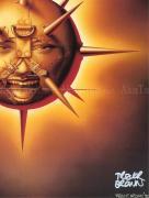 Trevor Brown Spikey Sun poster (detail)