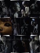 Tsutomu Kawakami Postcard Set of 12 Artworks