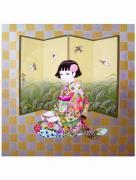 Yuji Moriguchi Sparrow painting
