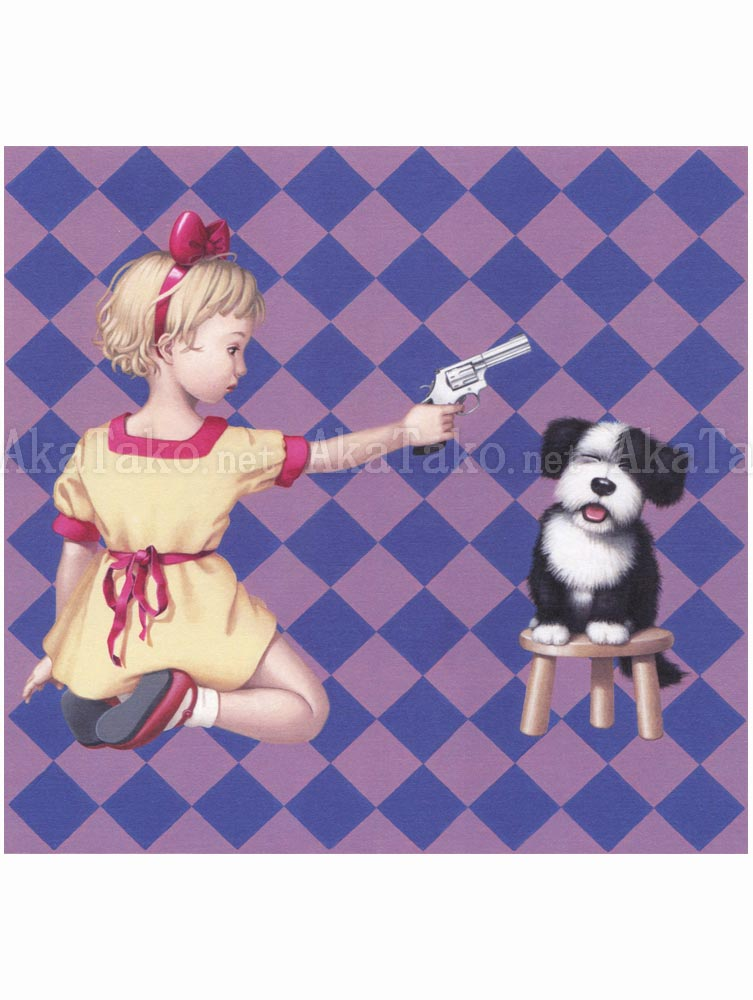 Trevor Brown Kill Your Pet Puppy painting