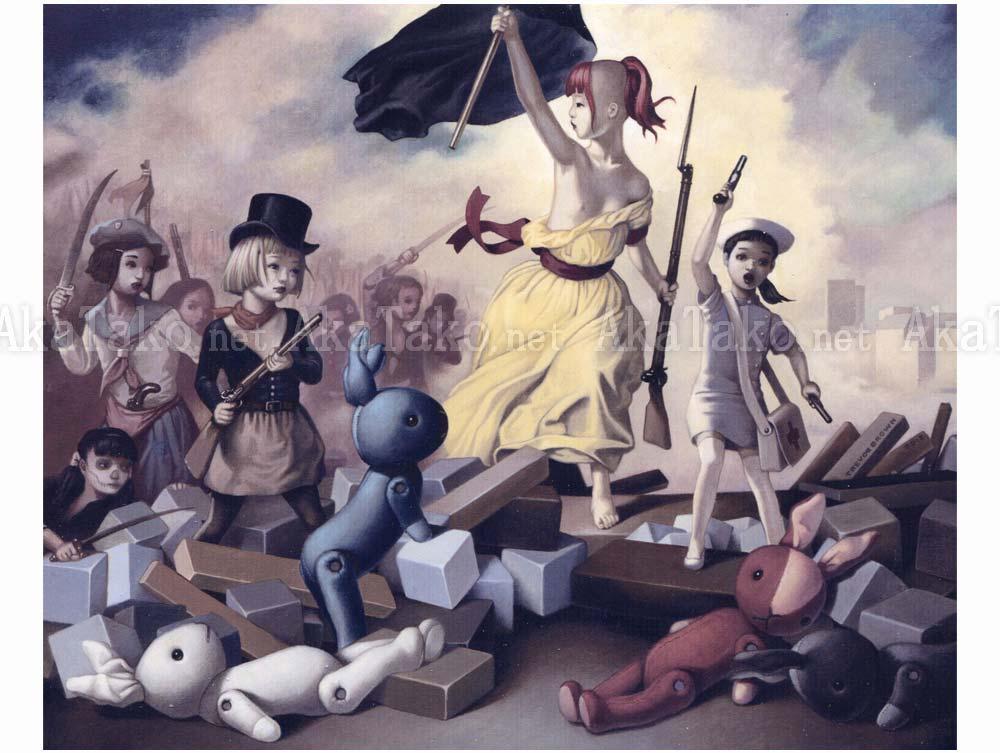 Trevor Brown Revolution painting