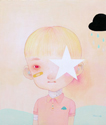 Hikari Shimoda - Kawaii-icon (Star, Blond Hair, Bandage)
