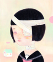 Hikari Shimoda - Kawaii-icon (Bandage, School uniform)