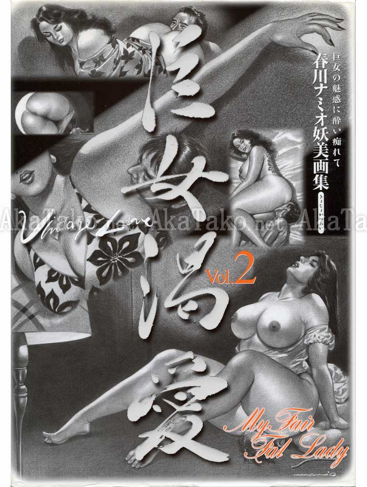 Namio Harukawa My Fair Fat Lady Vol 2 (front cover)
