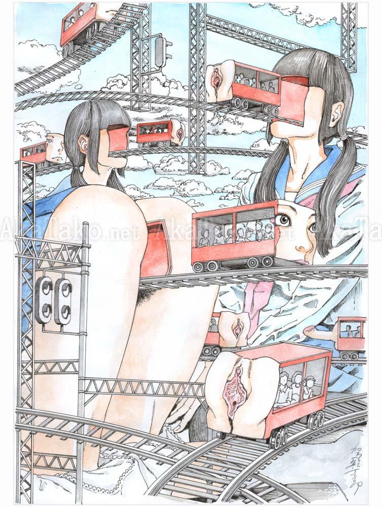 Shintaro Kago Erotic Original 20